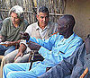 Pictures of George Clooney Visiting Sudan With Ann Curry
