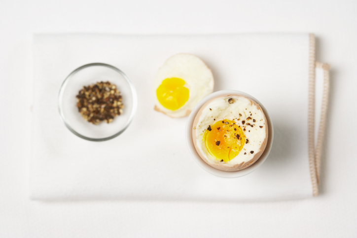 Perfect your boiled egg skills.