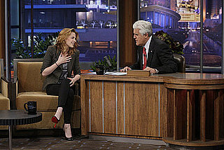 Pictures and Video of Kristen Stewart on The Tonight Show With Jay Leno 10/08/10