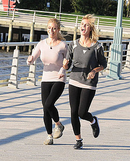 Pictures of Heidi Klum Launching New Balance Line and Running in New York