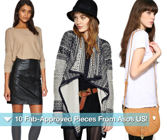 Asos just launched a new and improved US site. Here are our 10 favorite pieces.
