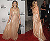 Photos of Sarah Jessica Parker at the New York Ballet in Long Nude Dress