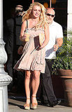 Pictures of Britney Spears in a Sundress