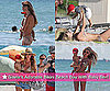 Pictures of Gisele Bundchen in Bikini With Ben at the Beach