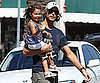 Slide Picture of Gabriel Aubry and Nahla in LA