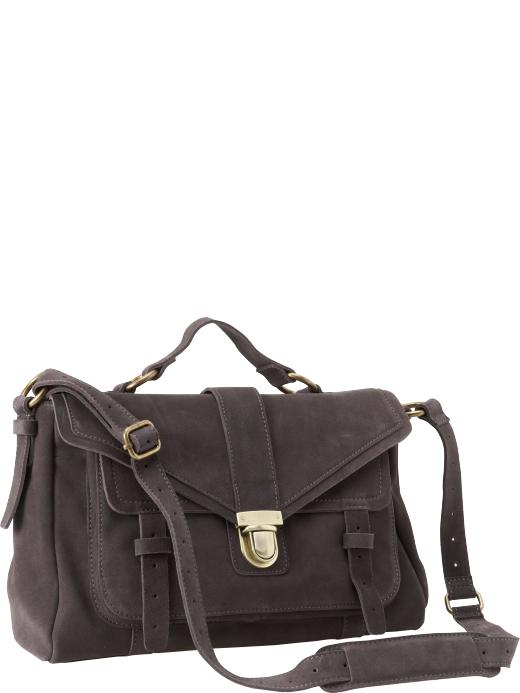 Gap Suede Bookbag ($178)