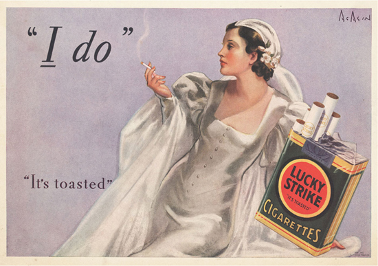Lucky Strike 1940s