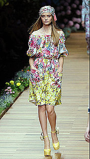 Floral Trends From 2011 Spring Fashion Week Shows