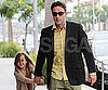 Slide Picture of David Arquette and Coco at Breakfast in LA