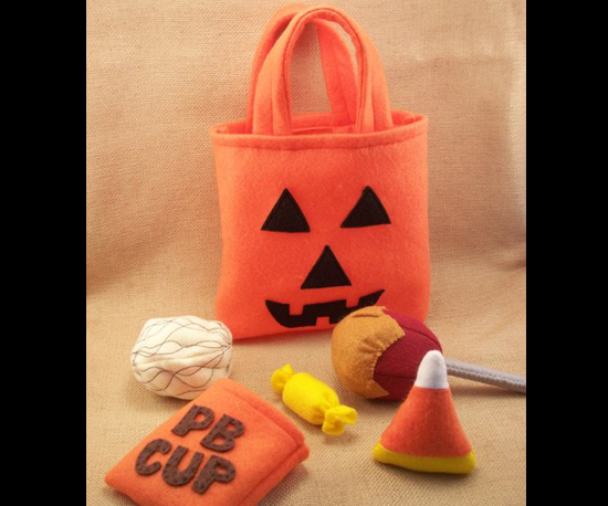 Felt Trick or Treat Bag