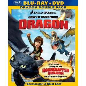 How to Train Your Dragon Blu Ray DVD ($22.99)