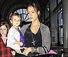 Slide Picture of Jessica Alba and Honor at LAX