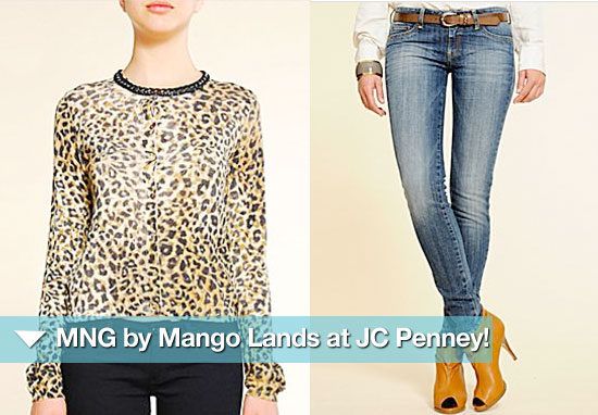 MNG by Mango Lands at JC Penney — 10 Fab Pieces Under $100!