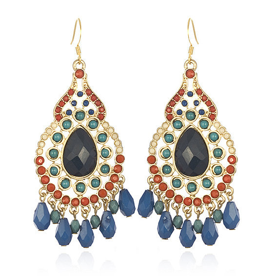 Chameleon Indian Chandelier Earrings ($45)