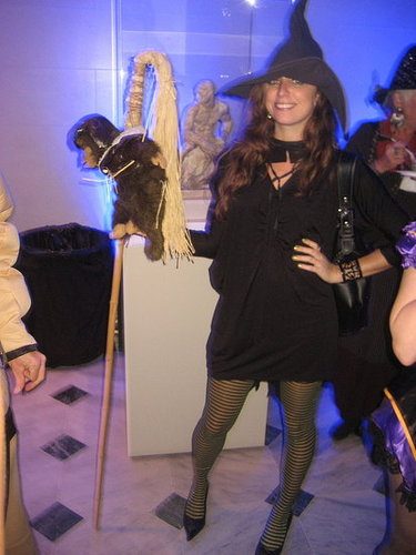 The Wicked Witch of the West (please note the flying monkey!)