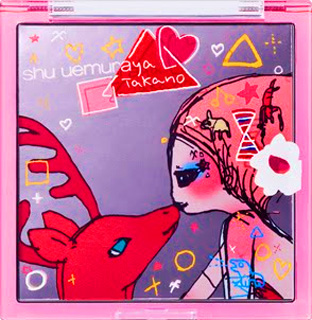 Shu Uemura Aya Takano Collaboration Holiday Collection