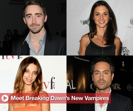 Breaking Dawn Vampire Casting Update Includes Members of Irish, Romanian, and Egyptian Covens 2010-10-14 16:03:29
