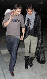 Pictures of Halle Berry and Olivier Martinez in LA