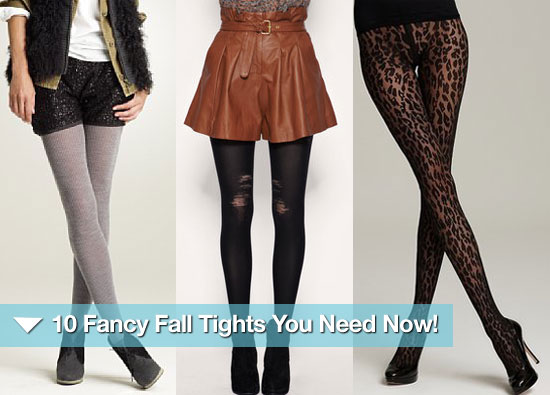 10 Fancy Fall Tights You Need Now — and How to Wear Them!