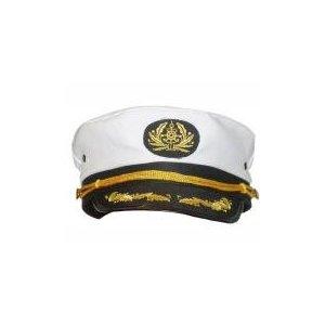 Fancy Dress Captains Cap With Peak (£3.81)