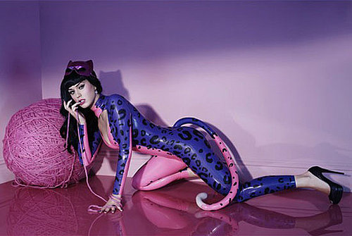 Katy Perry's New Purr Fragrance Catsuit Ad