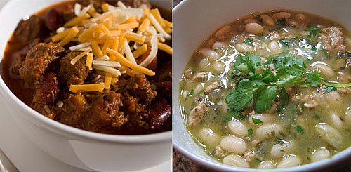 Would You Rather Eat Red or White Chili?