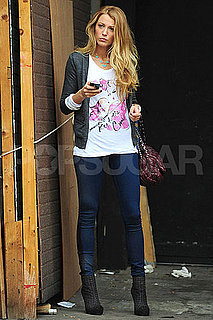Pictures of Blake Lively Leaving a Photo Studio in NYC