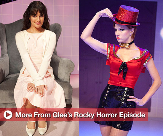 Pictures From Glee Rocky Horror Episode