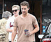 Slide Picture of Shia LaBeouf Leaving a Coffee Shop in LA