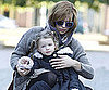 Slide Picture of Milla Jovovich and Ever Anderson at the Berlin Zoo