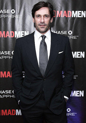 Jon Hamm and His Mad Men Women at the Season Four Finale Party in NYC