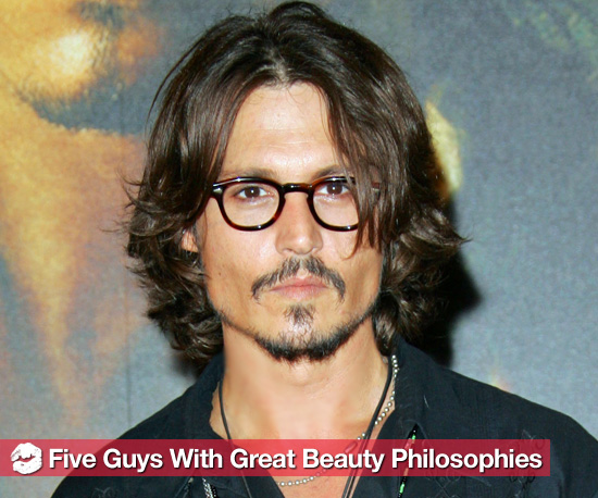 Smart Beauty Lessons From Good-Looking Men Including Johnny Depp and Justin Bieber
