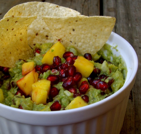 What to Make: Pomegranate Guacamole