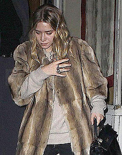 Pictures of Ashley Olsen Bundling Up in NYC For a Date With Justin Bartha