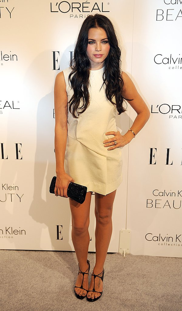 Jenna Dewan is a vision in mini white.
