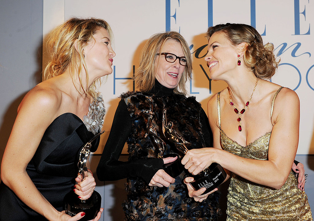 Kate and Hilary gush over Diane Keaton.