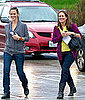 Pictures of Jennifer Garner Visiting the Pacific Design Center in LA
