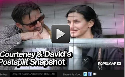 Video: Courteney Cox and David Arquette's Postsplit Snapshot