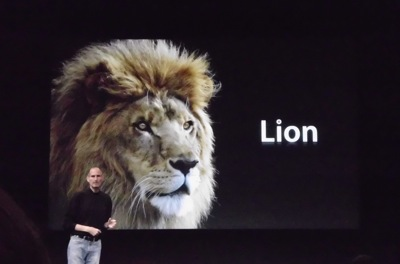 Mac OS X Lion Screenshots