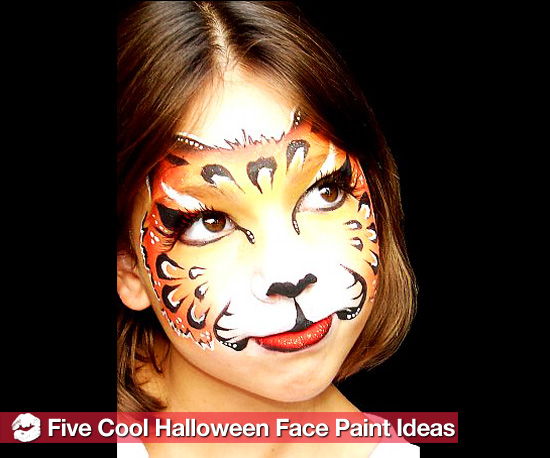 Easy Halloween Face Paint Ideas - Easy Halloween Faces