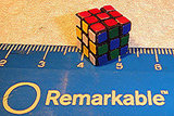 Photos of the Tiny Rubik's Cube
