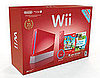 Red Super Mario Wii and DSi XL