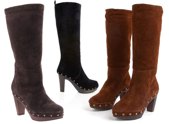 Are you into the tall clog boot trend? Vote now!