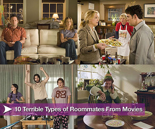10 Terrible Types of Roommates From Movies