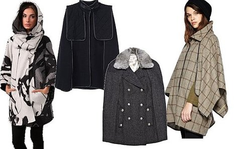 Caped Crusader: Four Standout Capes For Fall