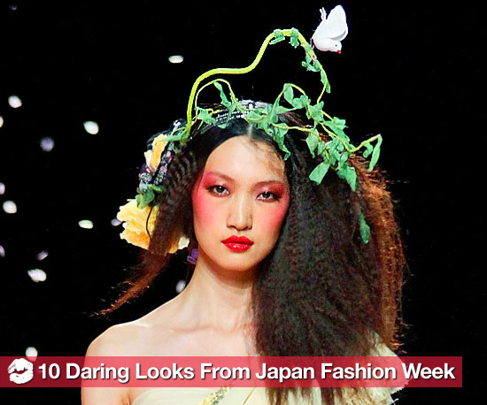 10 of the Most Daring Beauty Looks From Japan Fashion Week so Far