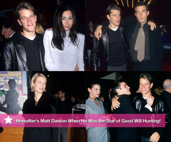 Pictures of Hereafter's Matt Damon at the 1997 Premiere of Good Will Hunting
