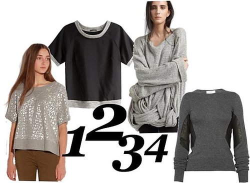 Four New Spins on the Standard Grey Sweatshirt