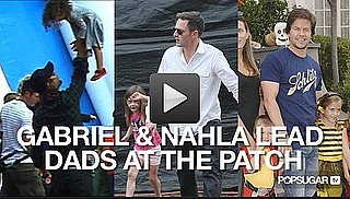 Video of Gabriel Aubry and Nahla Aubry at the Pumpkin Patch 2010-10-25 11:27:49
