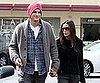 Slide Picture of Demi Moore and Ashton Kutcher Leaving Spa in LA